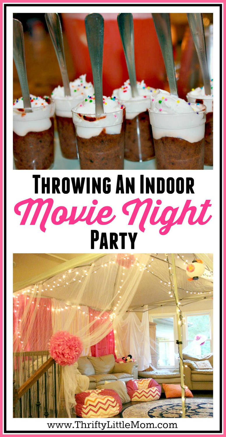 Movie Night Birthday Party  5 Ideas for an Epic Indoor Movie Party at Your House