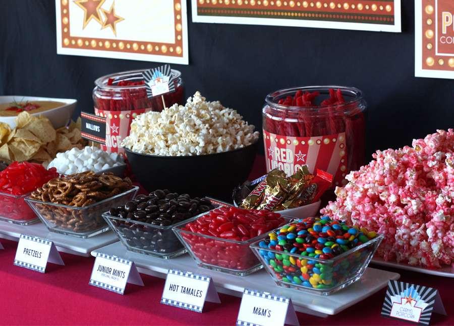 Movie Night Birthday Party  Movie Night Movie Night Party Ideas