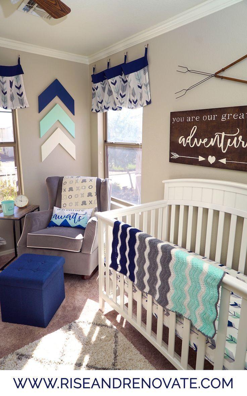 Newborn Baby Boy Room Decor  Adventure Nursery Baby Boy Nursery Ideas
