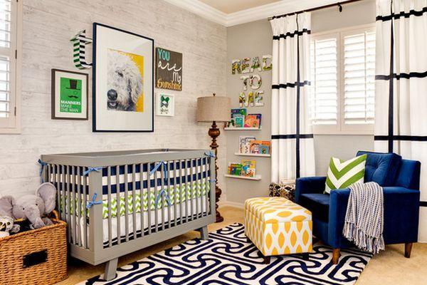 Newborn Baby Boy Room Decor  20 Beautiful Baby Boy Nursery Room Design Ideas Full