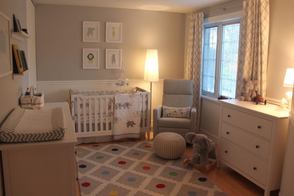 Newborn Baby Boy Room Decor  Our Little Baby Boy s Neutral Room Project Nursery
