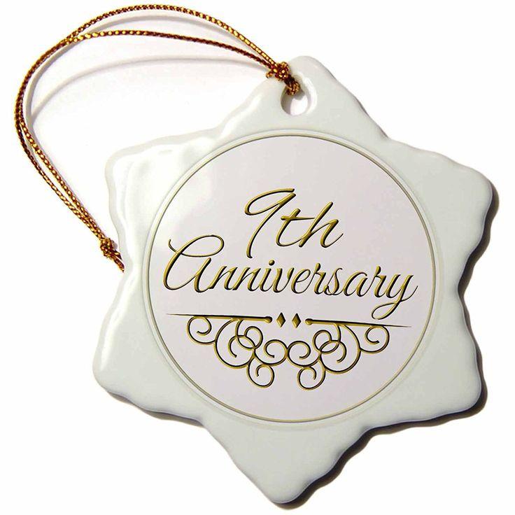 Ninth Anniversary Gift Ideas  9th Wedding Anniversary Gift
