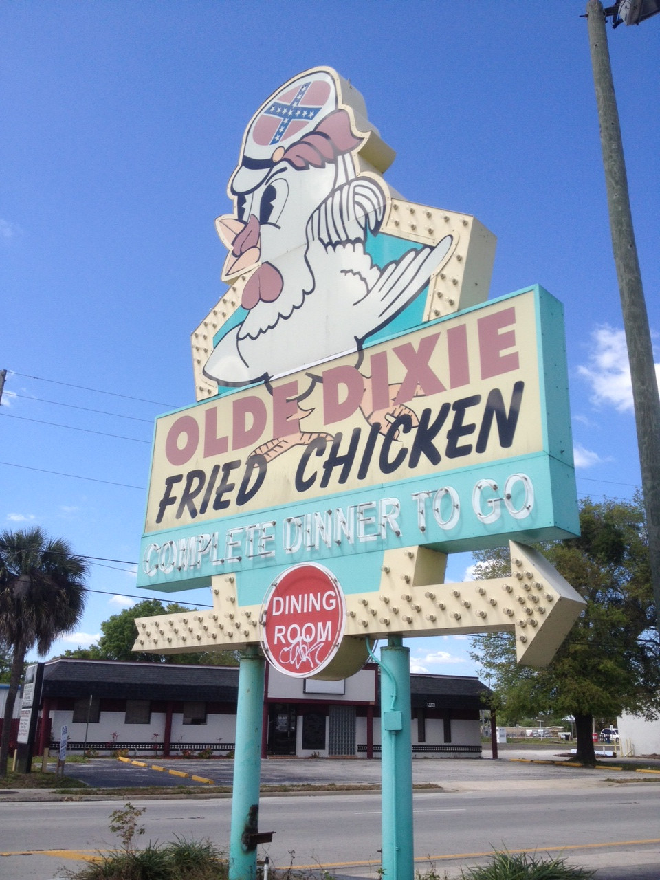 Olde Dixie Fried Chicken  Olde Dixie Fried Chicken The Unofficial Restaurant