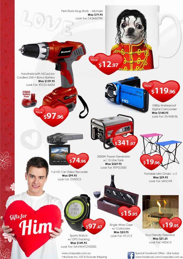 Online Valentine Gift Ideas  Great Valentine Gift Ideas for Him Valentines Day 2013