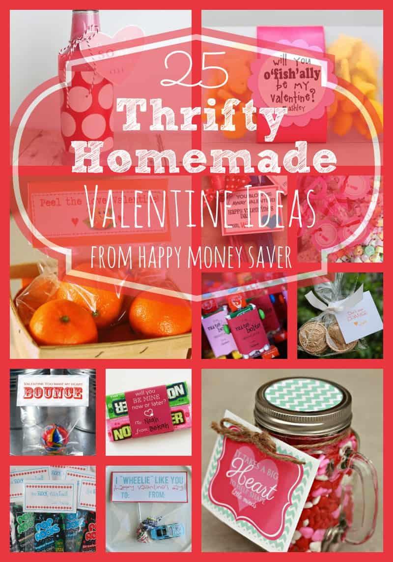 Online Valentine Gift Ideas  25 Thrifty Homemade Valentine Ideas