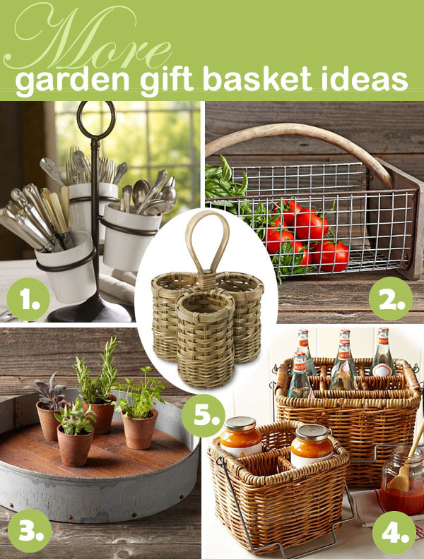 Outdoor Gift Basket Ideas  5 DIY Gardening Gifts for the Global Foo