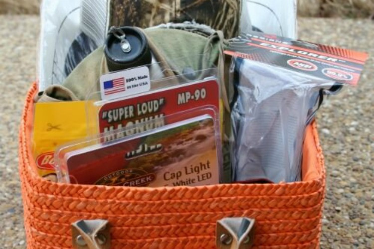 Outdoor Gift Basket Ideas  Gift Basket for an Outdoorsman Dukes and Duchesses