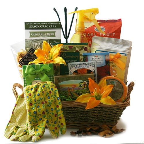 Outdoor Gift Basket Ideas  How to Create a Garden Gift Basket Garden Gift Basket