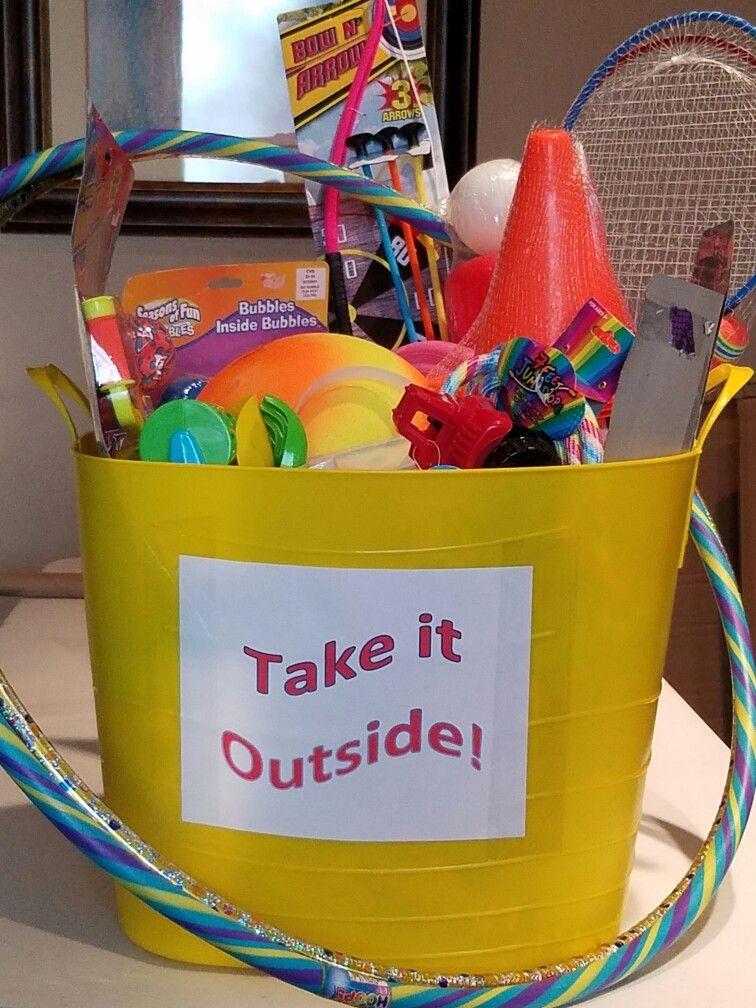 Outdoor Gift Basket Ideas  Take it Outside Outdoor Fun