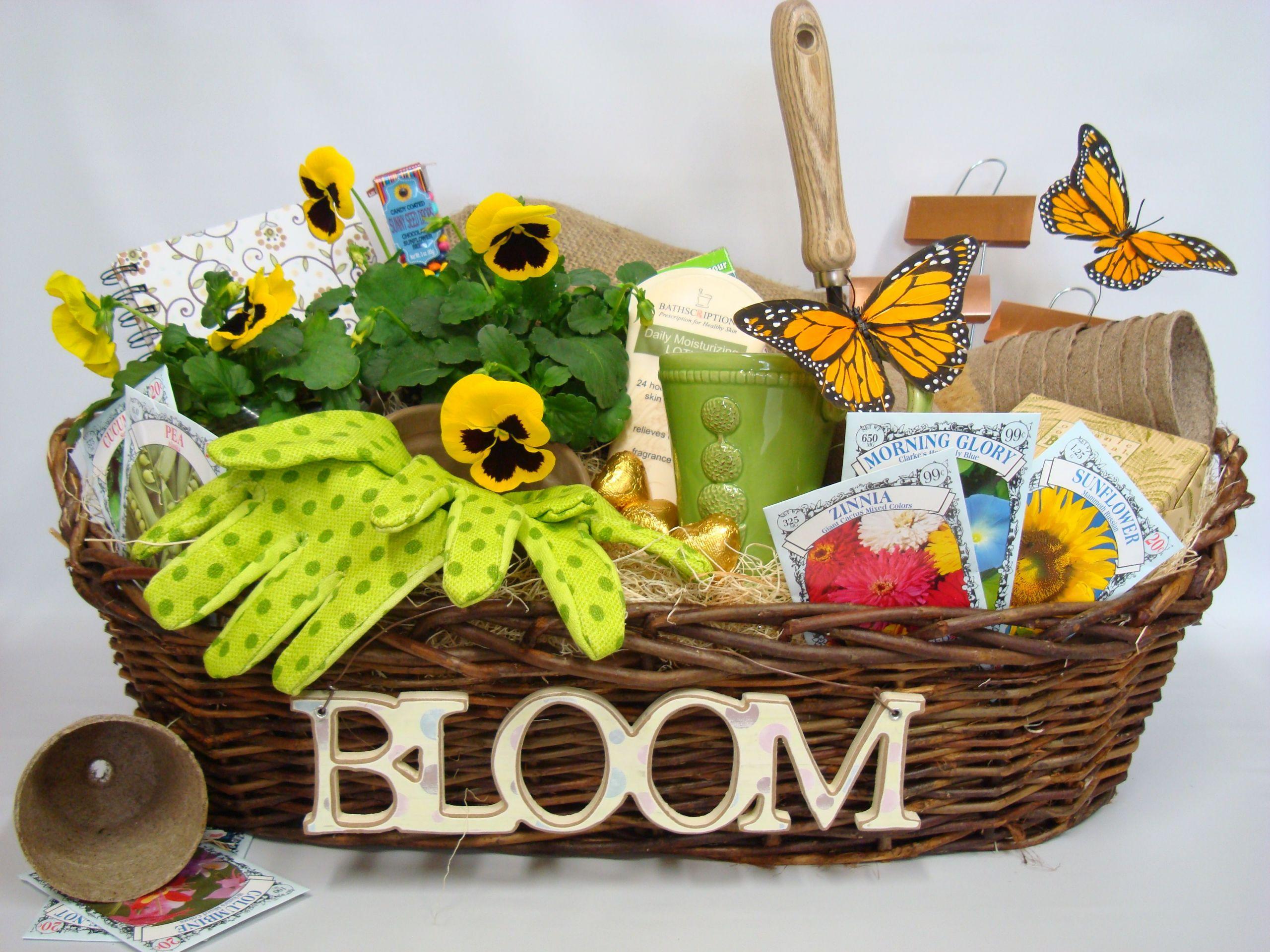 Outdoor Gift Basket Ideas  Gardening Gift Basket Ideas