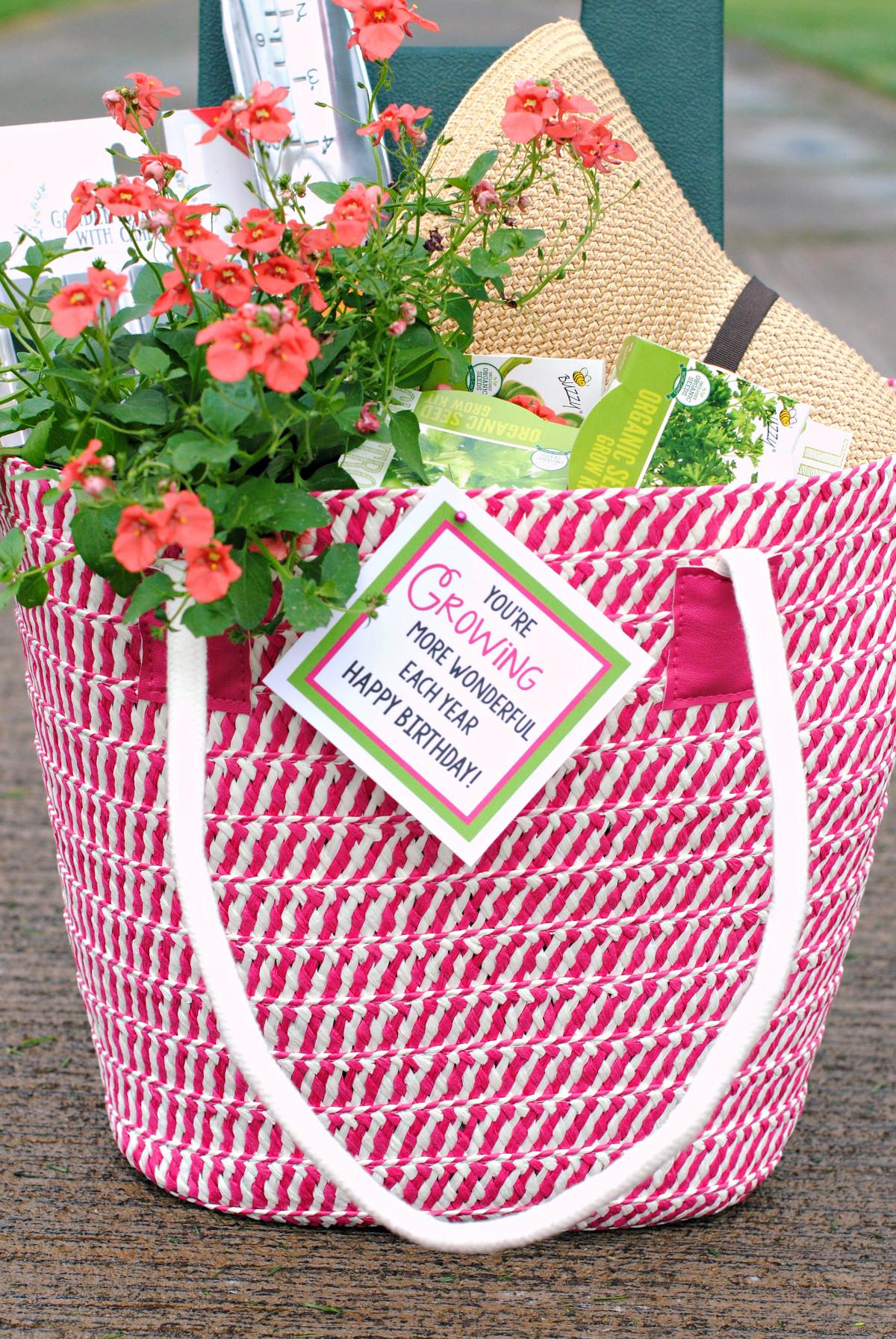 Outdoor Gift Basket Ideas  Fun Gardening Gift Basket Idea – Fun Squared