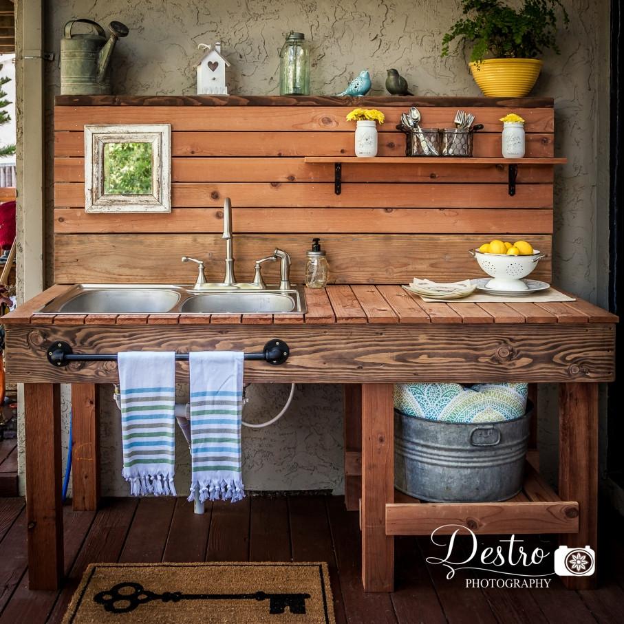 Outdoor Kitchen Sinks  Outdoor Sink Destro graphy Project Destro