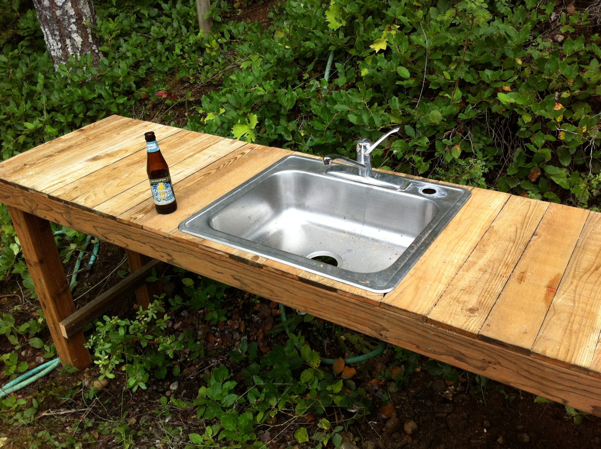 Outdoor Kitchen Sinks  f Grid Rain Water Collection System Upgrade Part 2