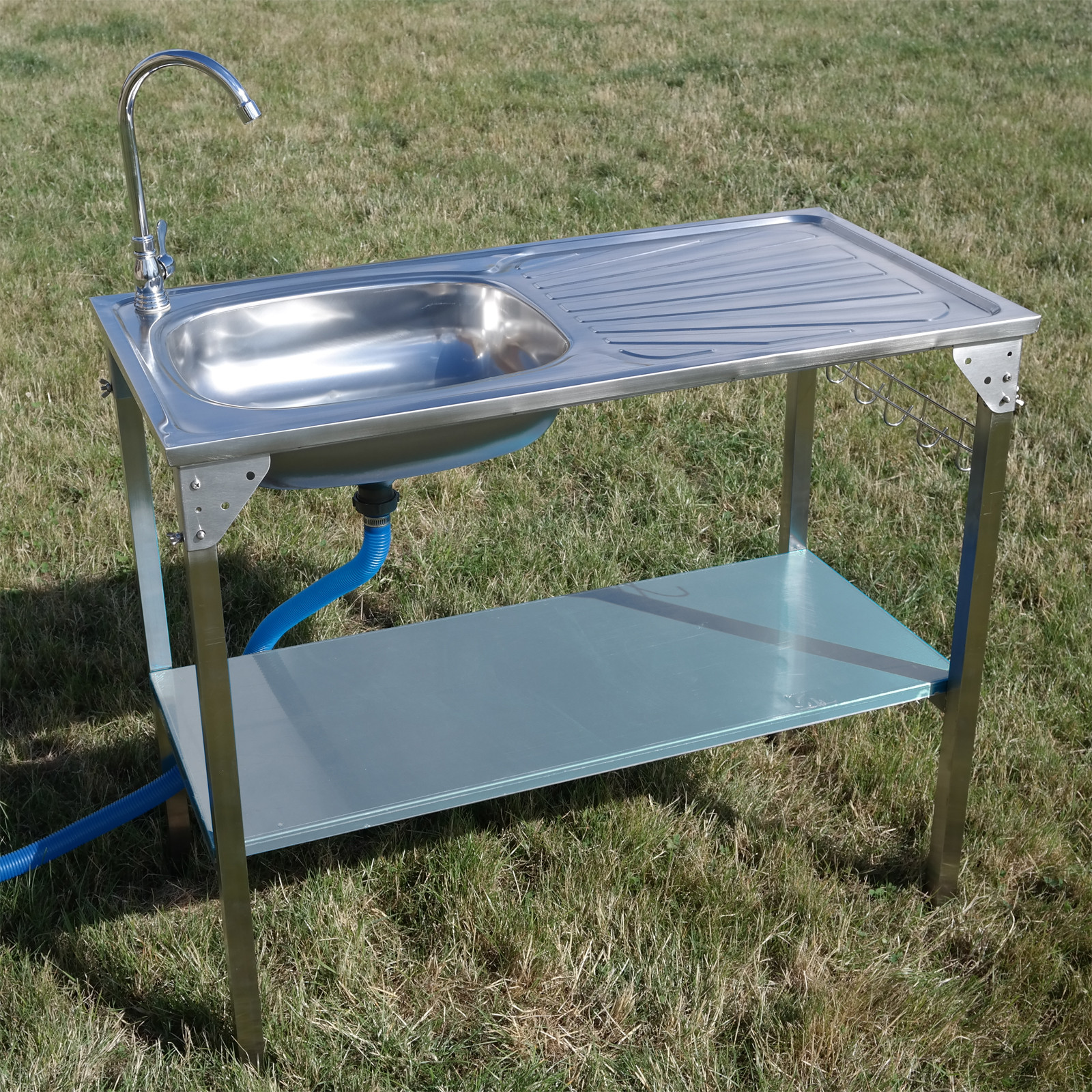Outdoor Kitchen Sinks  Kitchen Sink Camping Unit Folding Barbecue BBQ Tap Outdoor