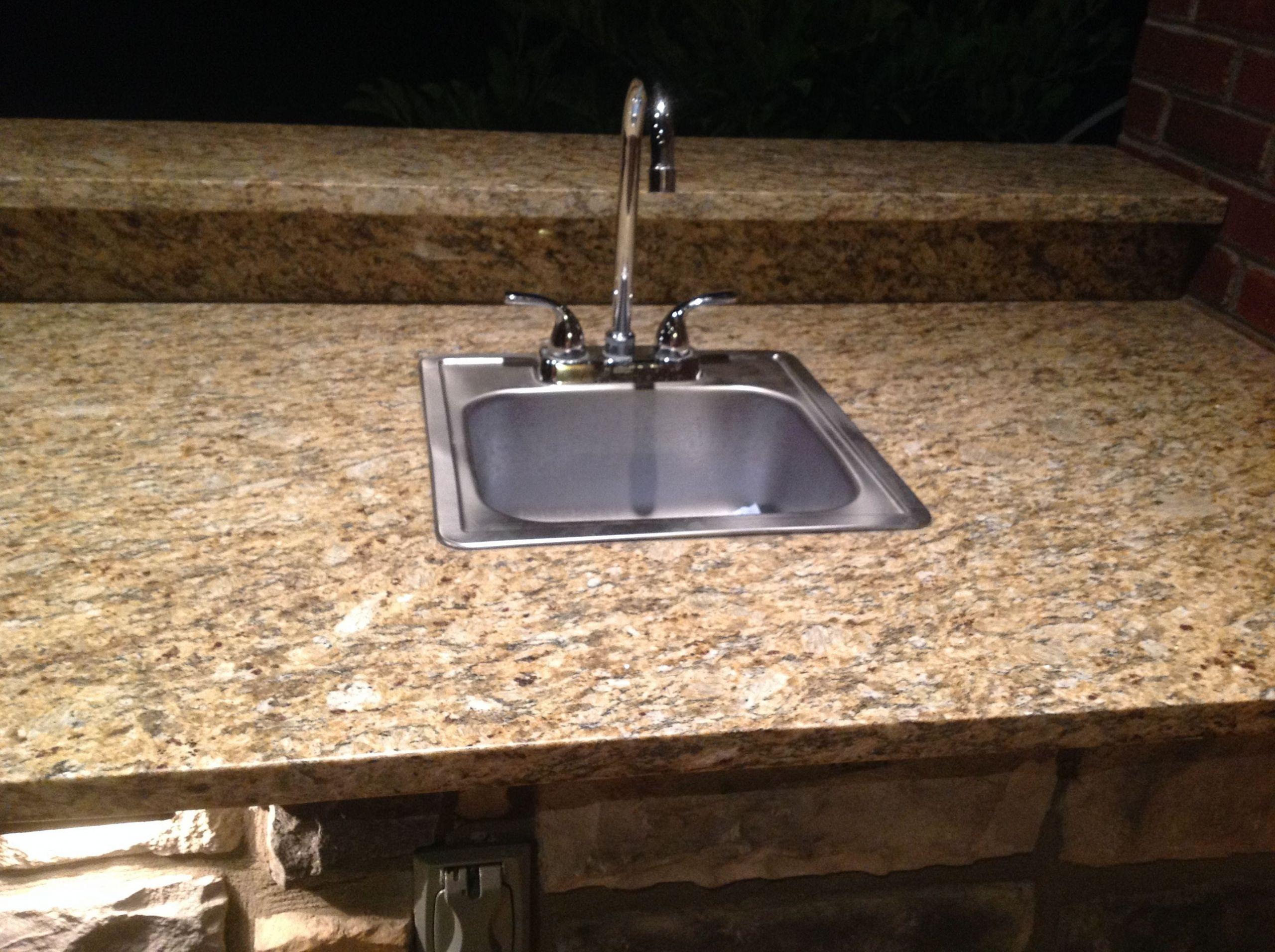 Outdoor Kitchen Sinks  Outdoor Design Build Just another WordPress weblog