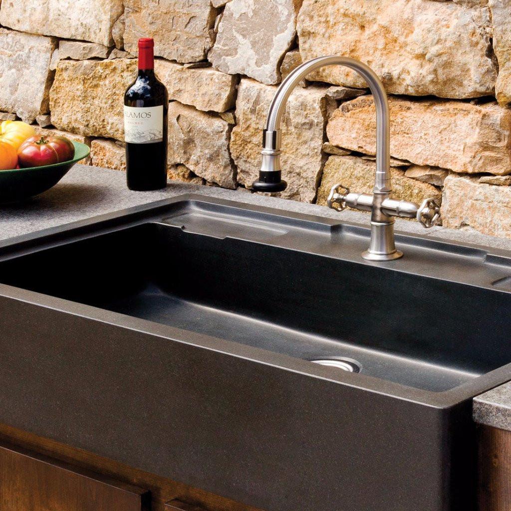 Outdoor Kitchen Sinks  Salus Outdoor Kitchen Sink – Stone Forest