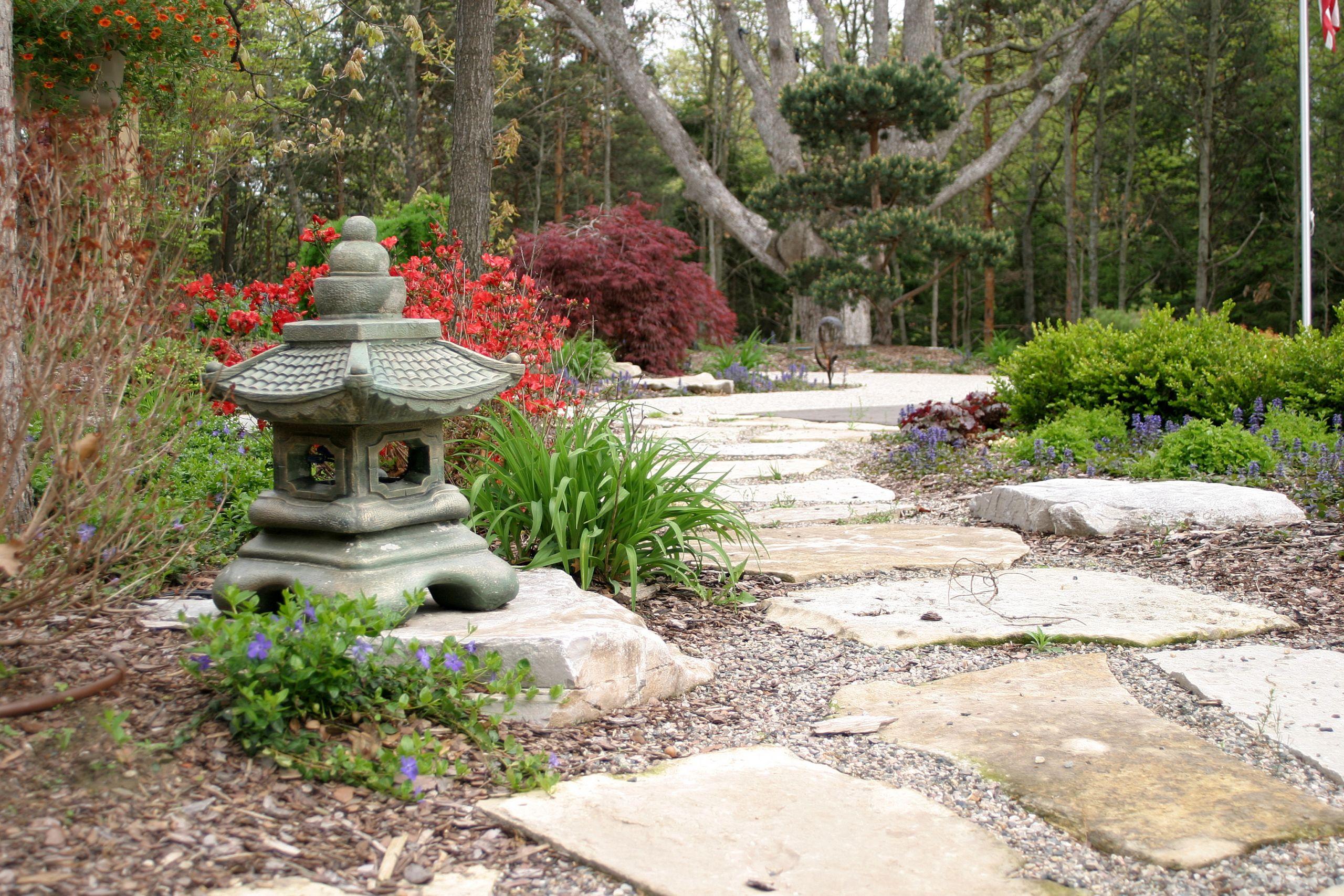 Outdoor Landscape Decor  Garden Structures Decorative Landscape