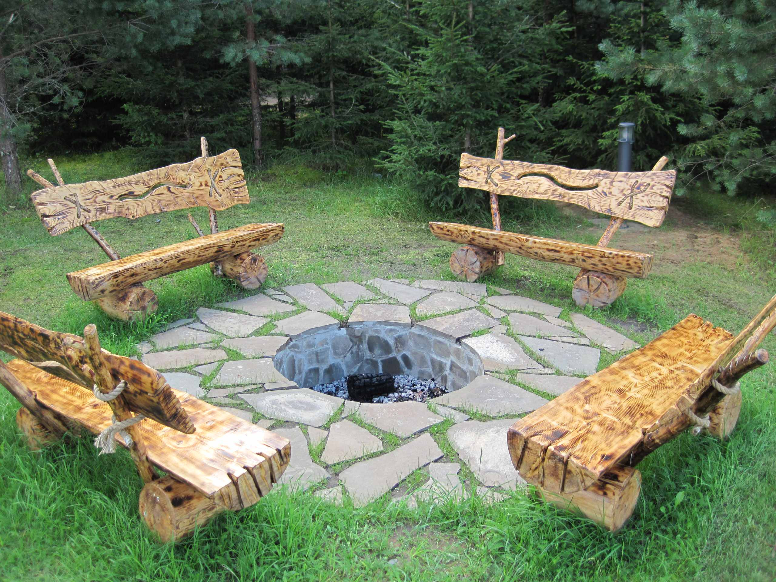 Outdoor Landscape Decor  15 Stunning Rustic Landscape Designs That Will Take Your