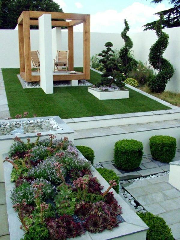 Outdoor Landscape Decor  25 trendy ideas for garden and landscape – modern garden