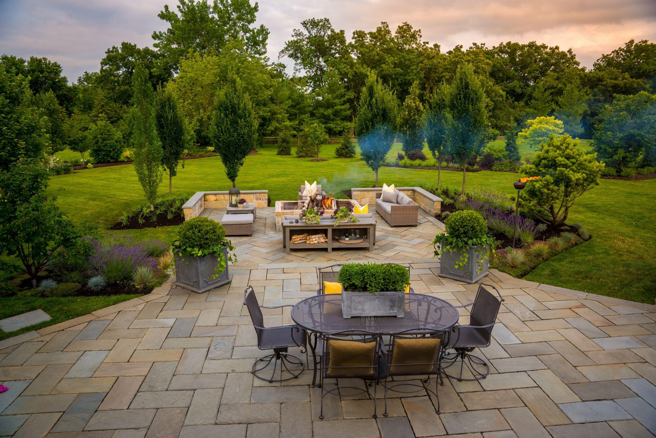 Outdoor Landscape Decor  A Backyard Landscape Design for Outdoor Entertaining