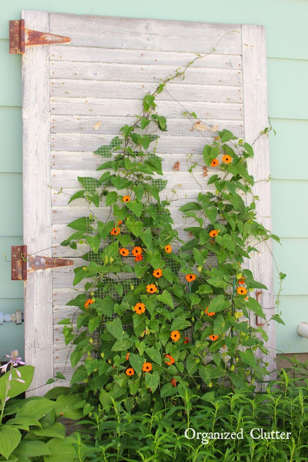 Outdoor Landscape Decor  My Friend Danita s Rustic Garden Decor