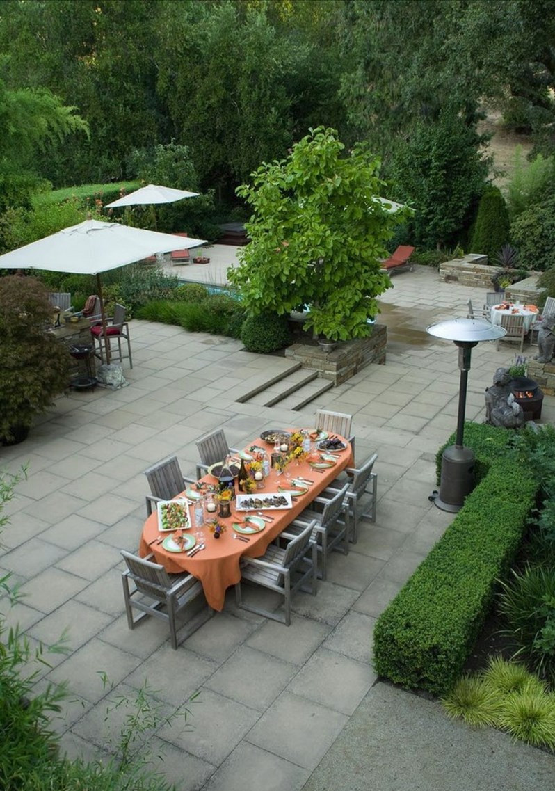 Outdoor Landscape Pavers  10 Paver Patios That Add Dimension and Flair to the Yard