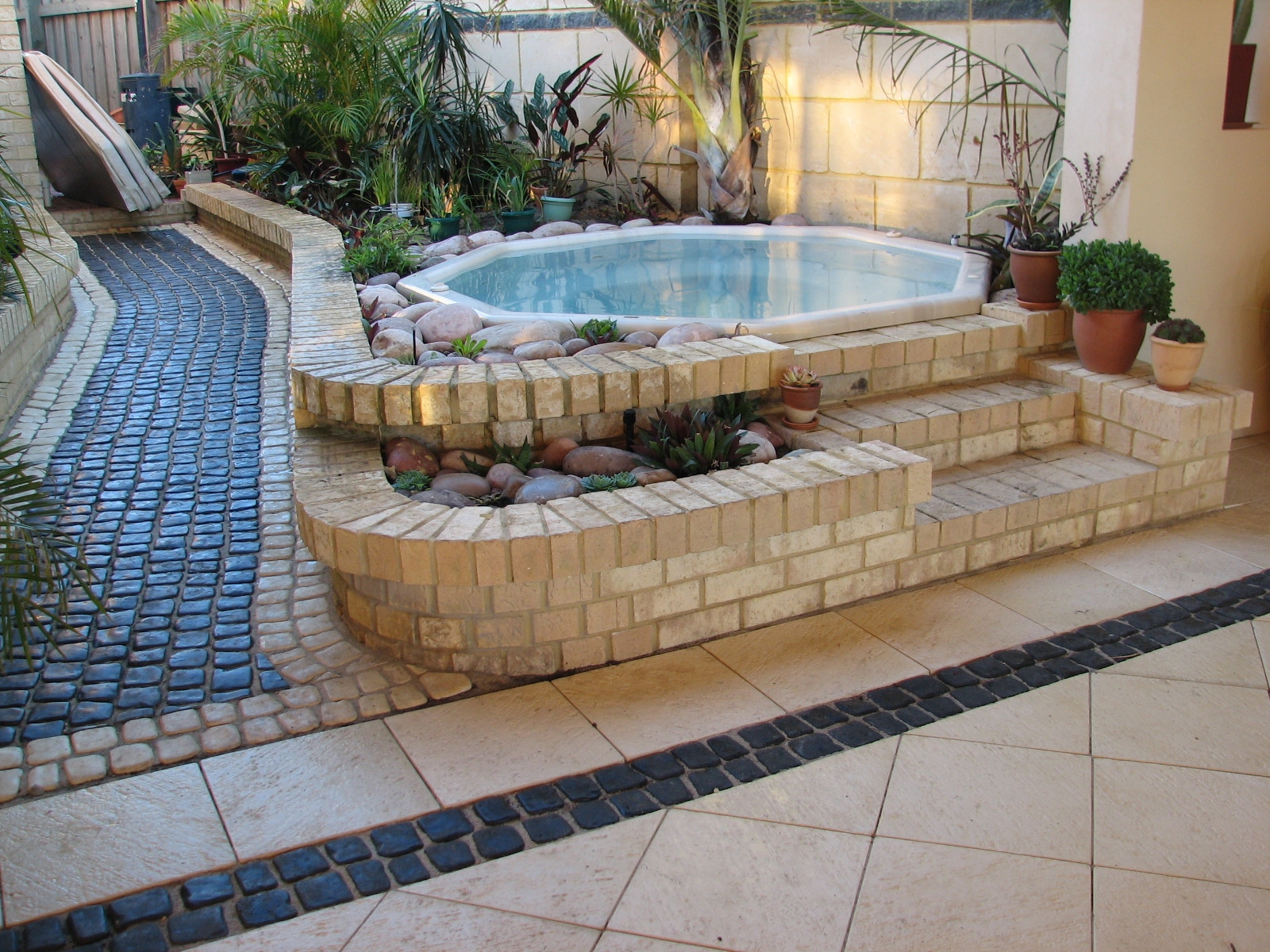 Outdoor Landscape Pavers  Patio Pavers And Patio Paving Ideas & Designs For Your