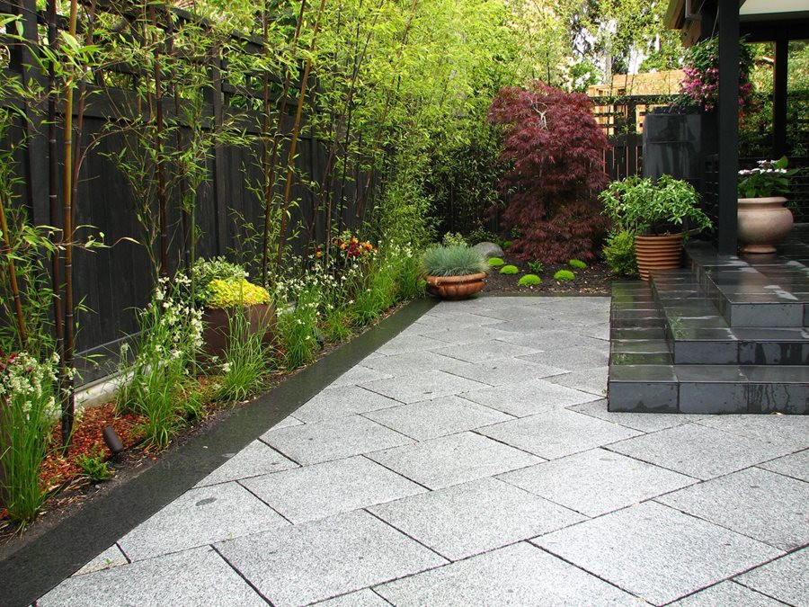 Outdoor Landscape Pavers  Private Japanese Garden Landscaping Network