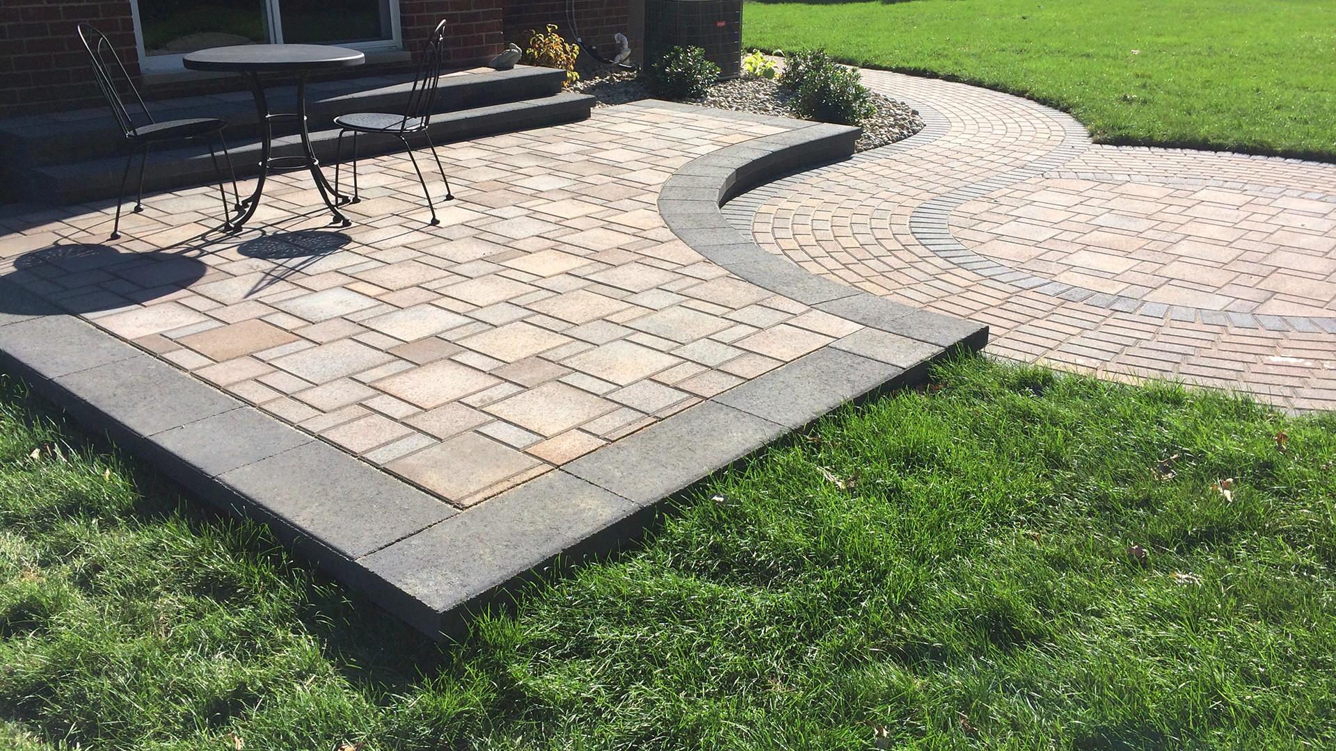 Outdoor Landscape Pavers  Brick Paver Patio Installation Livonia southeast Michigan