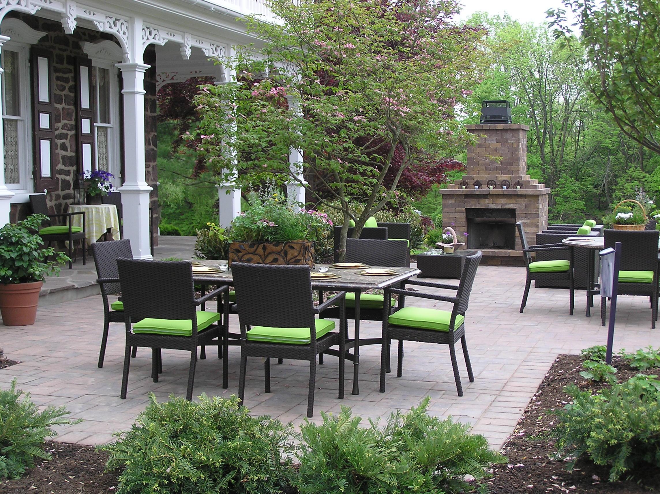 Outdoor Landscape Pavers  Paver Patio Archives Garden Design Inc