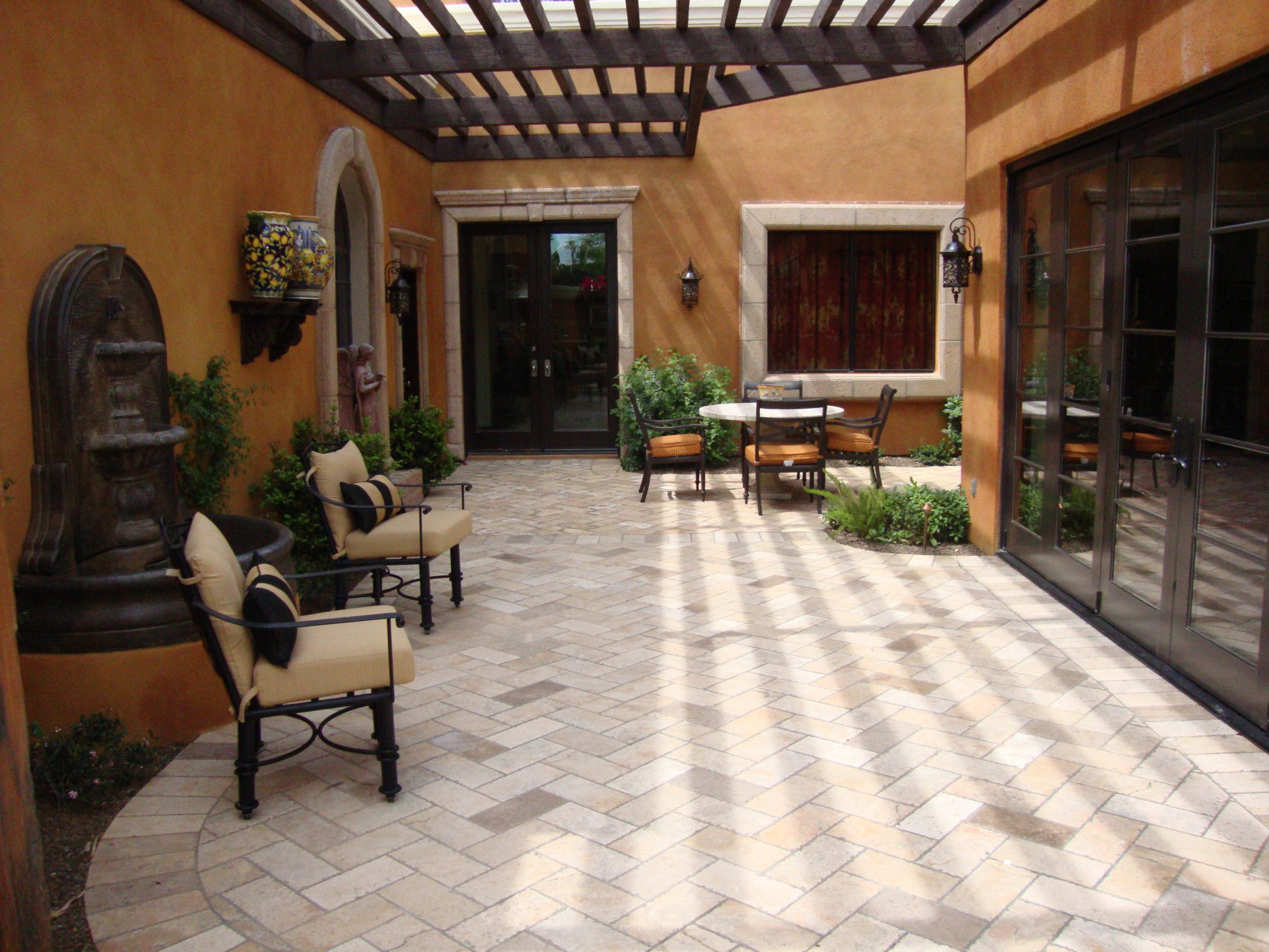 Outdoor Landscape Pavers  Paver Designs and Paver Ideas for Your Backyard Patios