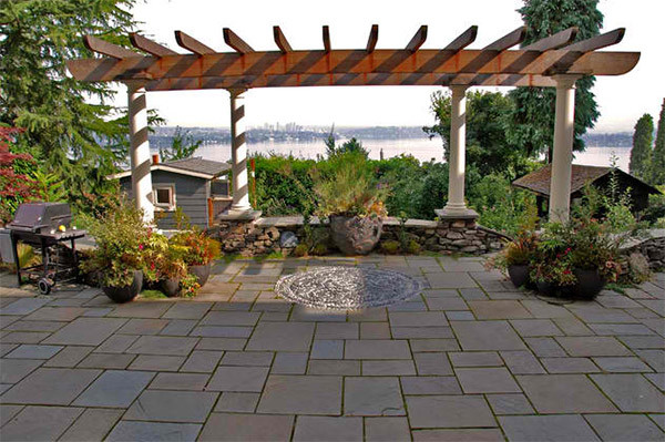 Outdoor Landscape Pavers  20 Lovely Ideas for Landscaping with Pavers