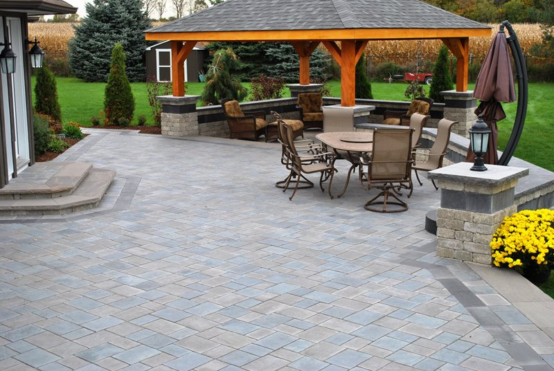 Outdoor Landscape Pavers  Paver Patio Whitby ON Gallery Landscaping Network