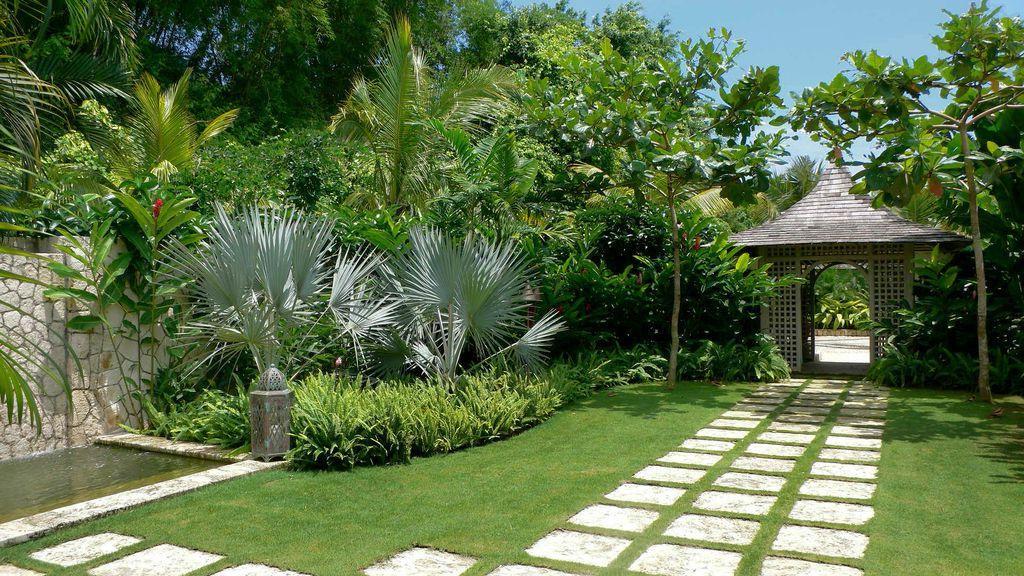Outdoor Landscape Tropical  Tropical landscape design ideas Gardening flowers 101