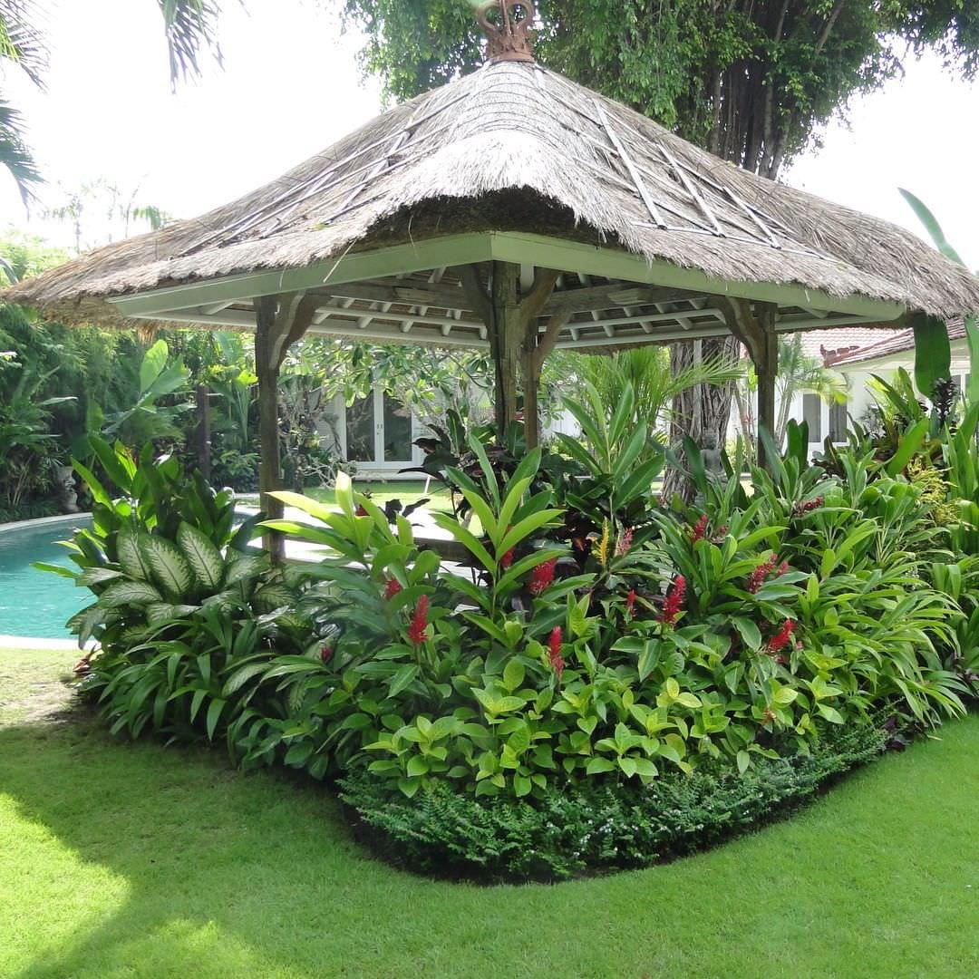 Outdoor Landscape Tropical  24 Tropical Garden Designs Decorating Ideas