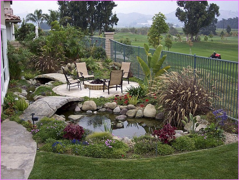 Outdoor Landscaping Ideas  Cool Backyard Landscape Ideas That Make Your Home As A