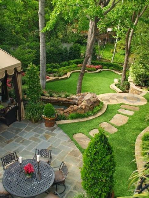 Outdoor Landscaping Ideas  25 Inspiring Backyard Ideas and Fabulous Landscaping Designs