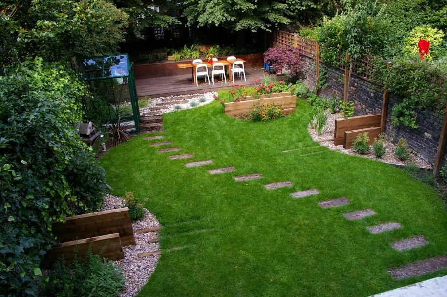 Outdoor Landscaping Ideas  Gallery of Garden Ideas for Kids or Children Interior
