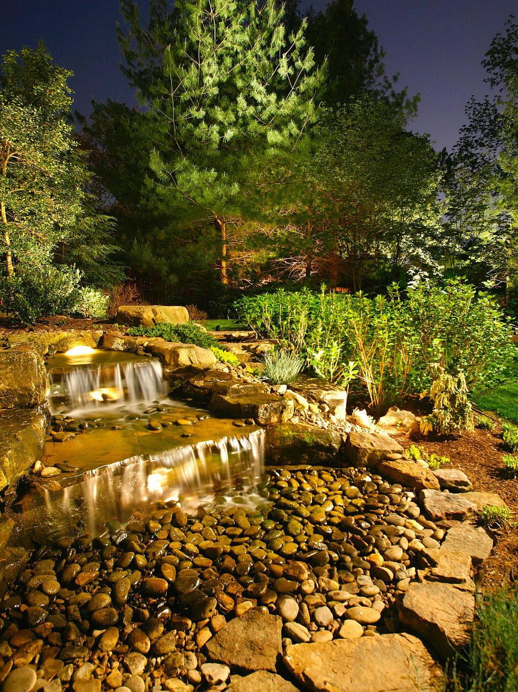 Outdoor Landscaping Ideas  Eye Catching Light 22 Landscape Lighting Ideas Interior