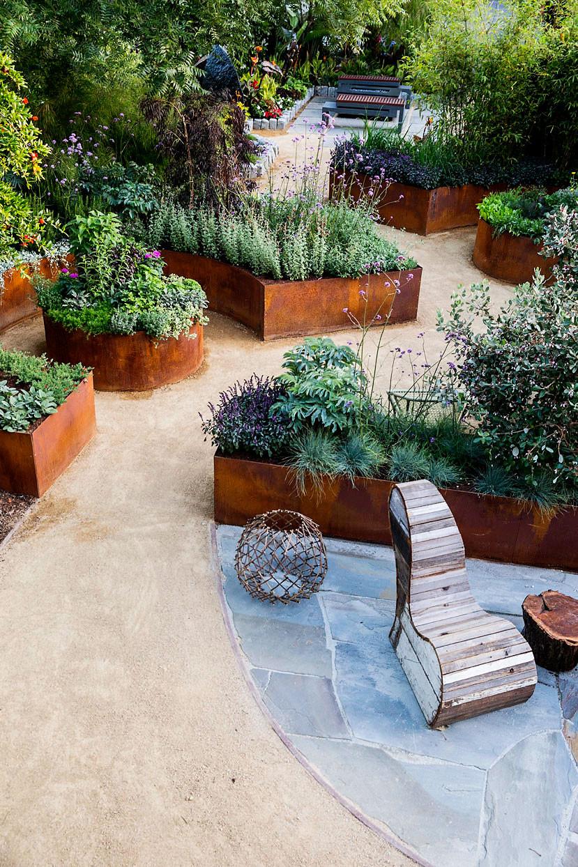 Outdoor Landscaping Ideas  Small Backyard Ideas for an Edible Garden Sunset Magazine
