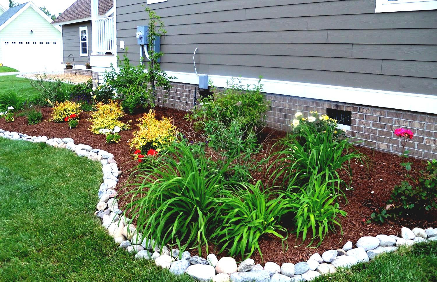 Outdoor Landscaping Ideas  Awesome Garden Landscaping Ideas For The Space Around Your
