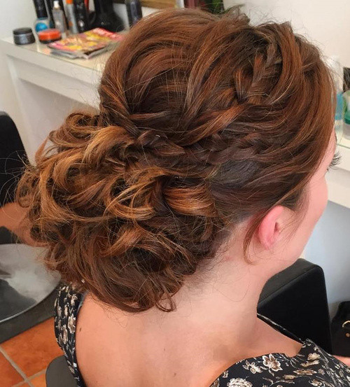 Pageant Hairstyles For Long Hair  40 Most Delightful Prom Updos for Long Hair in 2017