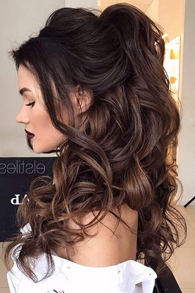 Pageant Hairstyles For Long Hair  15 Best Collection of Long Hairstyles Prom