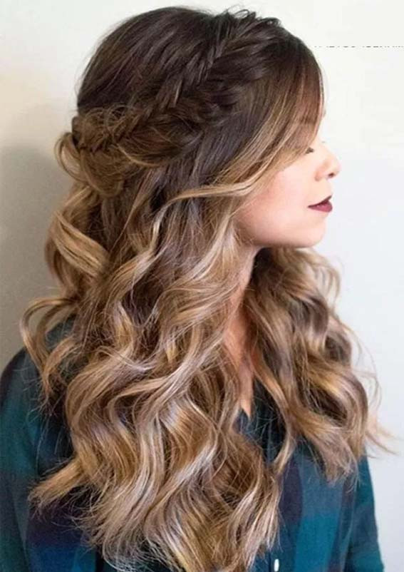 Pageant Hairstyles For Long Hair  Gorgeous Prom Hairstyles for Various Hair Lengths 2019