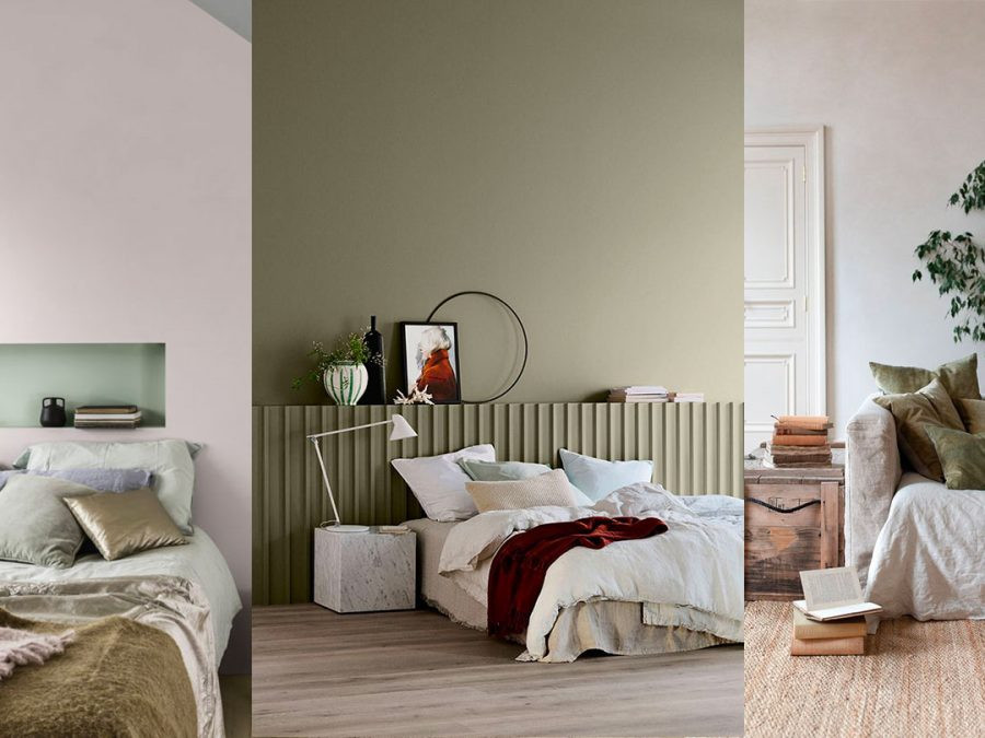Paint Colors For Bedroom 2020  Green wall paint COLOR TREND 2020