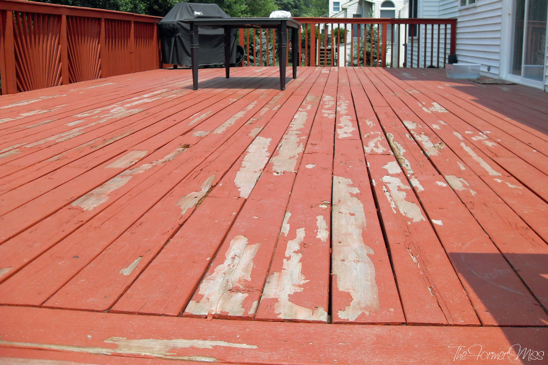 Paint My Deck  stain – The Former Miss