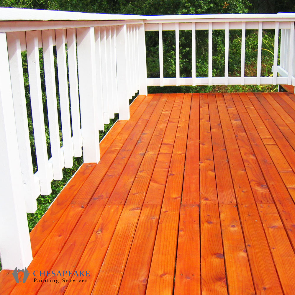 Paint My Deck  Staining and Sealing Chesapeake Painting Services