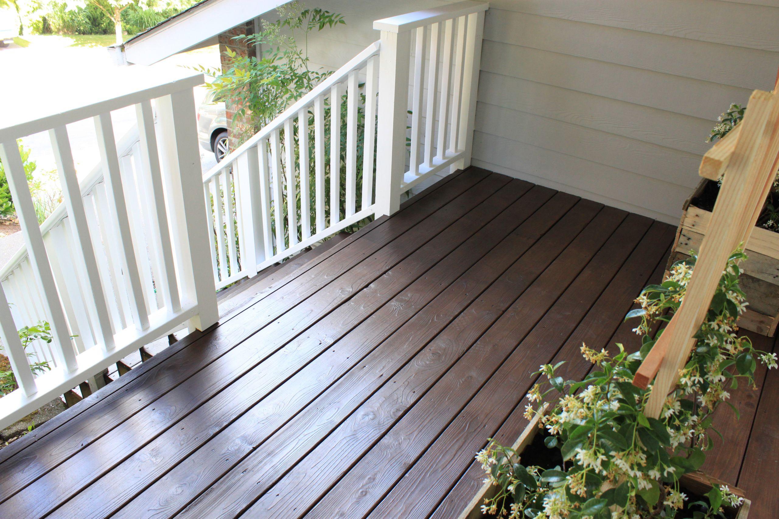 Paint My Deck  How ten Should I Refinish My Deck