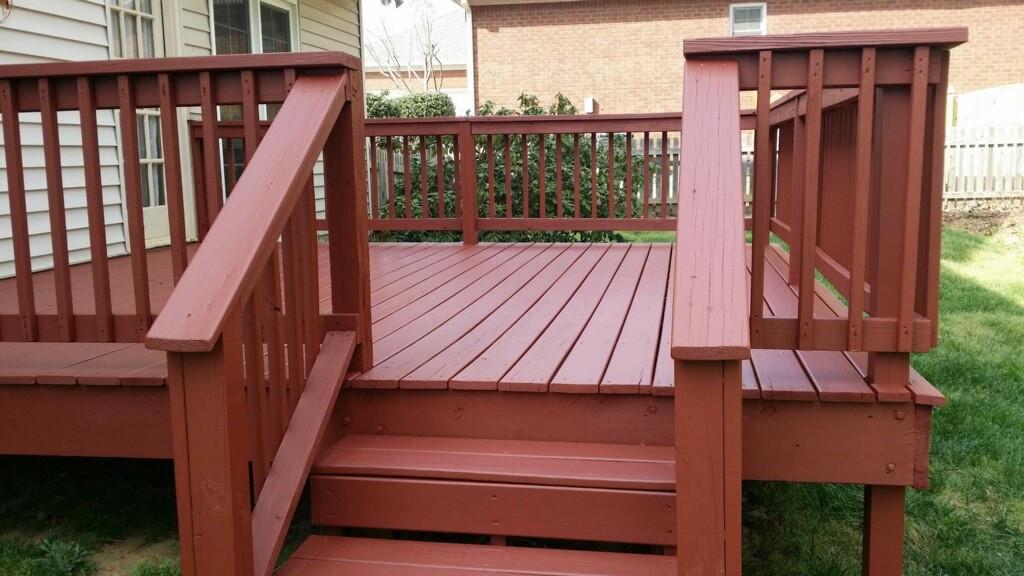 Paint My Deck  Deck Painting Peachtree City GA