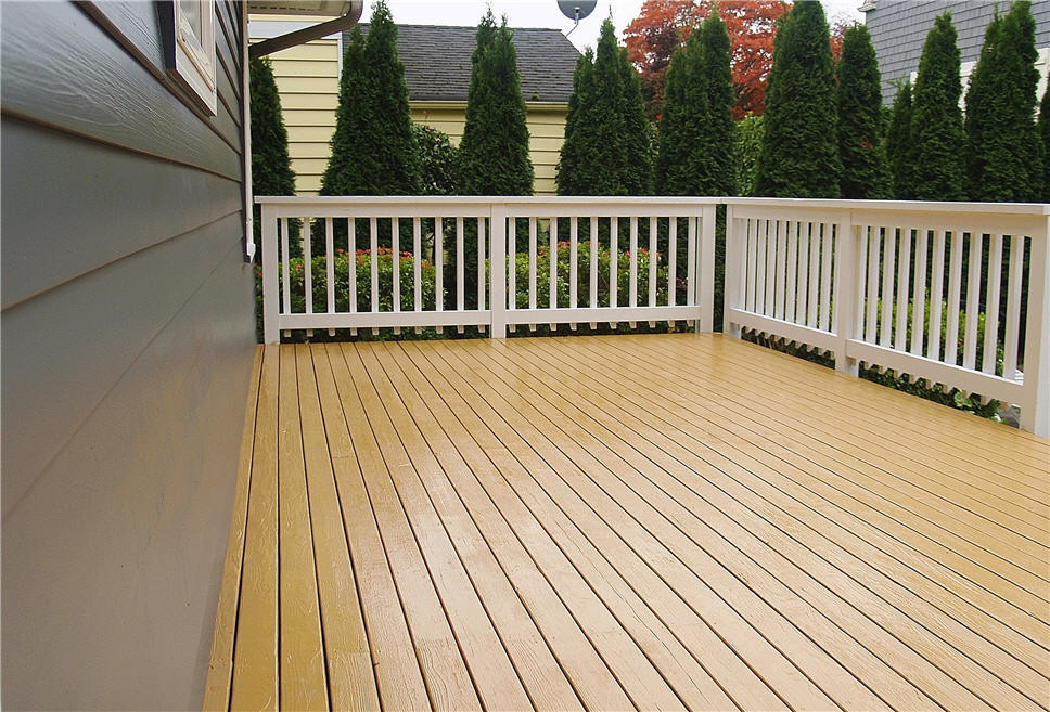 Paint Or Stain Deck  Lovely Staining Deck 5 Paint Stain Deck Railing
